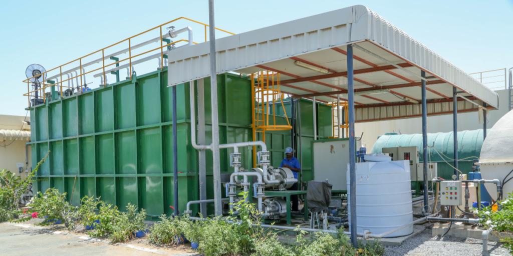 sewage treatment plant dubai uae